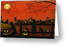 Halloween Harvest Greeting Card