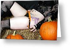 Halloween Honey Greeting Card