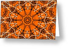 Halloween Kaleidoscope 12 Greeting Card