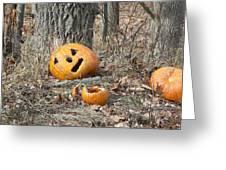 Halloween Leftovers Greeting Card