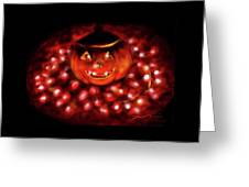 Halloween Lights Greeting Card