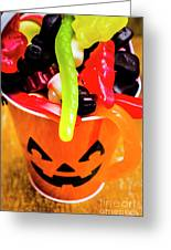 Halloween Party Details Greeting Card