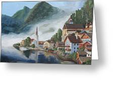 Hallstatt Austria Greeting Card