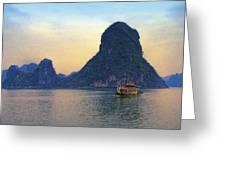 Halong Bay 5 Greeting Card