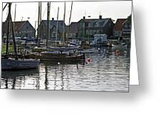 Halsingborg Marina 1 Greeting Card