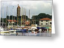 Halsingborg Marina 2 Greeting Card