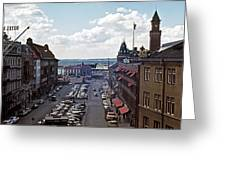 Halsingborg Sweden 1 Greeting Card