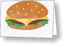 Hamburger Greeting Card