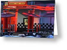 Hamburgs-fries-colas Greeting Card