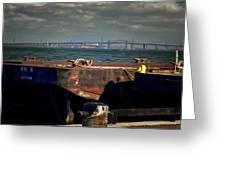 Hamilton Harbor- Pier 8 Greeting Card