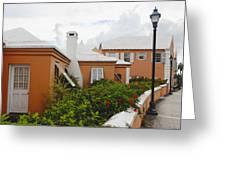 Hamilton Street Bermuda Greeting Card