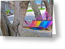 Hammock Time In The Florida Keys Greeting Card