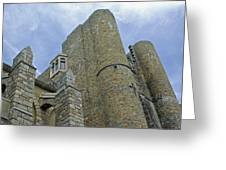 Hammond Castle Detail - Gloucester Ma Greeting Card