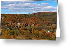 Hammondsport Panorama Greeting Card
