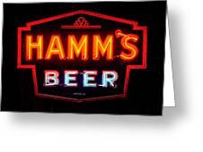 Hamm's Beer Greeting Card