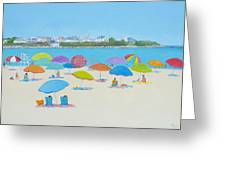 Hampton Beach And Boars Head Greeting Card