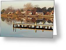 Hampton Virginia Sunrise Greeting Card