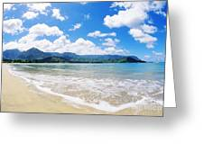 Hanalei Bay Greeting Card
