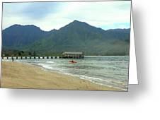 Hanalei Bay II Greeting Card