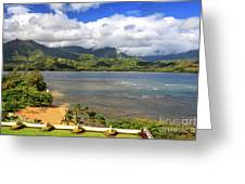 Hanalei Bay Greeting Card