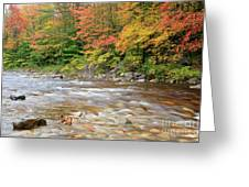 Hancock Branch - White Mountains New Hampshire  Greeting Card