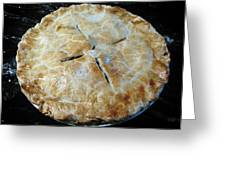 Handcrafted Apple Pie Greeting Card