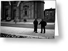 Handoff, Philadelphia Greeting Card