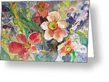 Handpicked Bouquet No. 2 Greeting Card