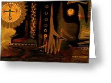 Hands Of Time Greeting Card