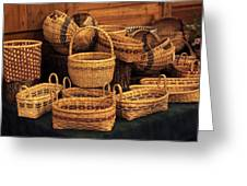 Handwoven Baskets Greeting Card