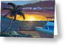 Hang Loose Harbor Greeting Card