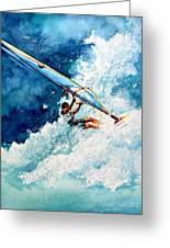 Hang Ten Greeting Card