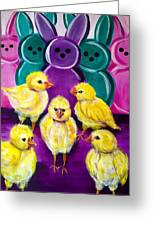 Hangin' With My Peeps Greeting Card