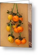 Hanging Fruit Greeting Card