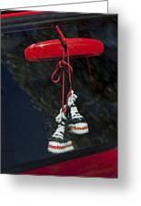 Hanging Hightops Greeting Card