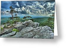 Hanging Rock Overlook Greeting Card