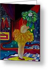 Hanging Up The Clown Greeting Card