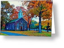 Hanover Church - Fall Greeting Card