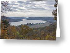Hanover College View Greeting Card