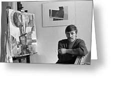 Hans Lenes Greeting Card