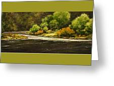 Lewis River Lagoon Greeting Card