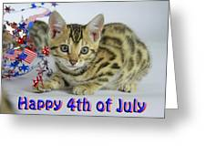 Happy 4th Of July Greeting Card