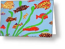 Happy Aquarium Greeting Card