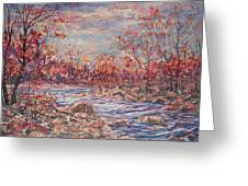 Happy Autumn Days. Greeting Card