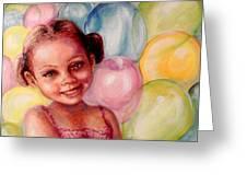 Happy Balloons Greeting Card