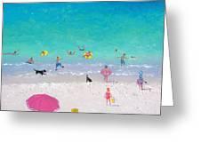 Happy Beach Days Greeting Card