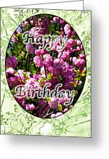 Happy Birthday - Greeting Card - Almond Blossoms No. 2 Greeting Card