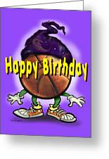 Happy Birthday Basketball Wiz Greeting Card