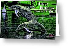 Happy Birthday Pisces Greeting Card by Beauty For God