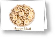 Happy Breakfast Fine Art Poster Greeting Card